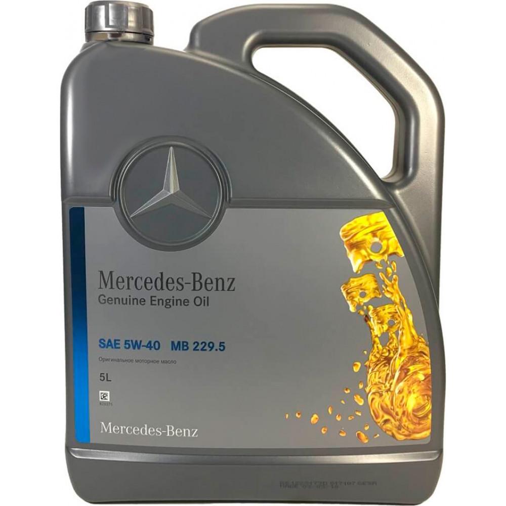 Моторное масло Mercedes-Вenz MB 229.5 5w40 5л.