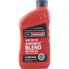 Моторное масло FORD Motorcraft 5W30 Synthetic Blend 0.946мл