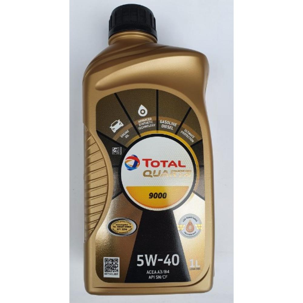Масло Total Quartz 9000 5w-40 1л