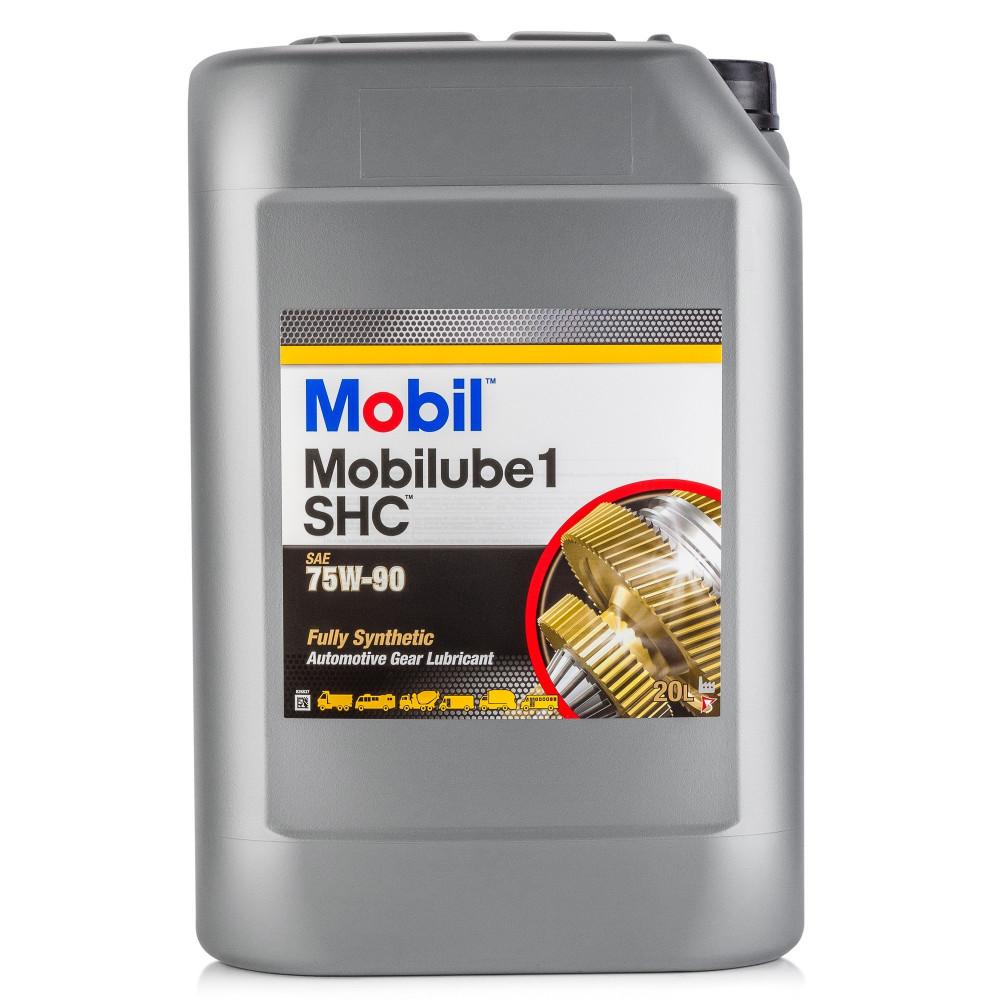 Трансмиссионное масло MOBIL Mobilube 1 SHC 75W-90 20л