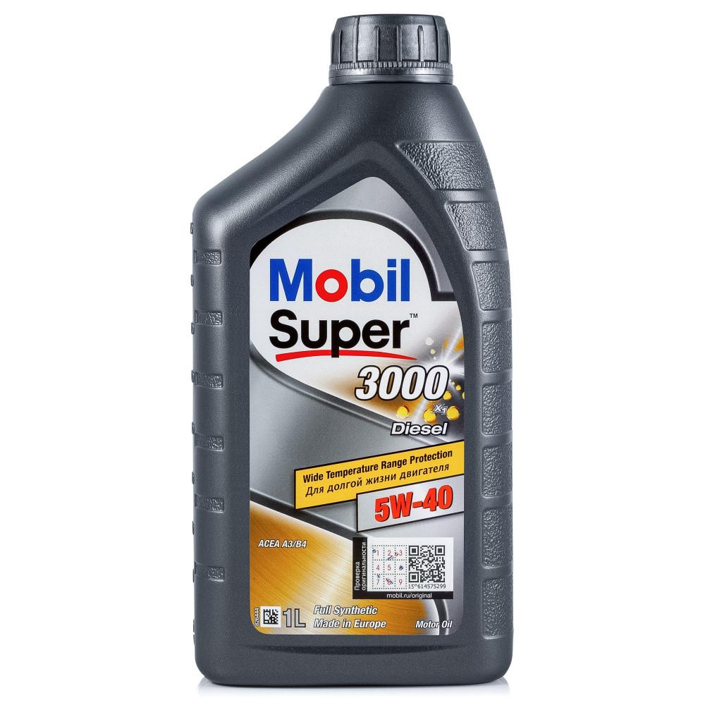 Mobil SUPER 3000 X1 DIESEL 5W-40 1л