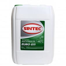 Антифриз Sintec Euro G11 зеленый 10кг