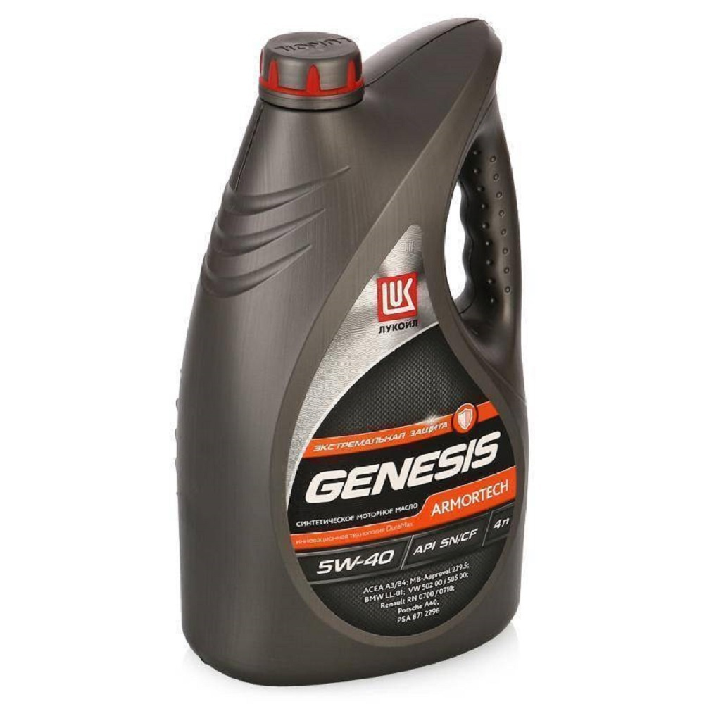 Лукойл Genesis Armortech 5W-40 4л