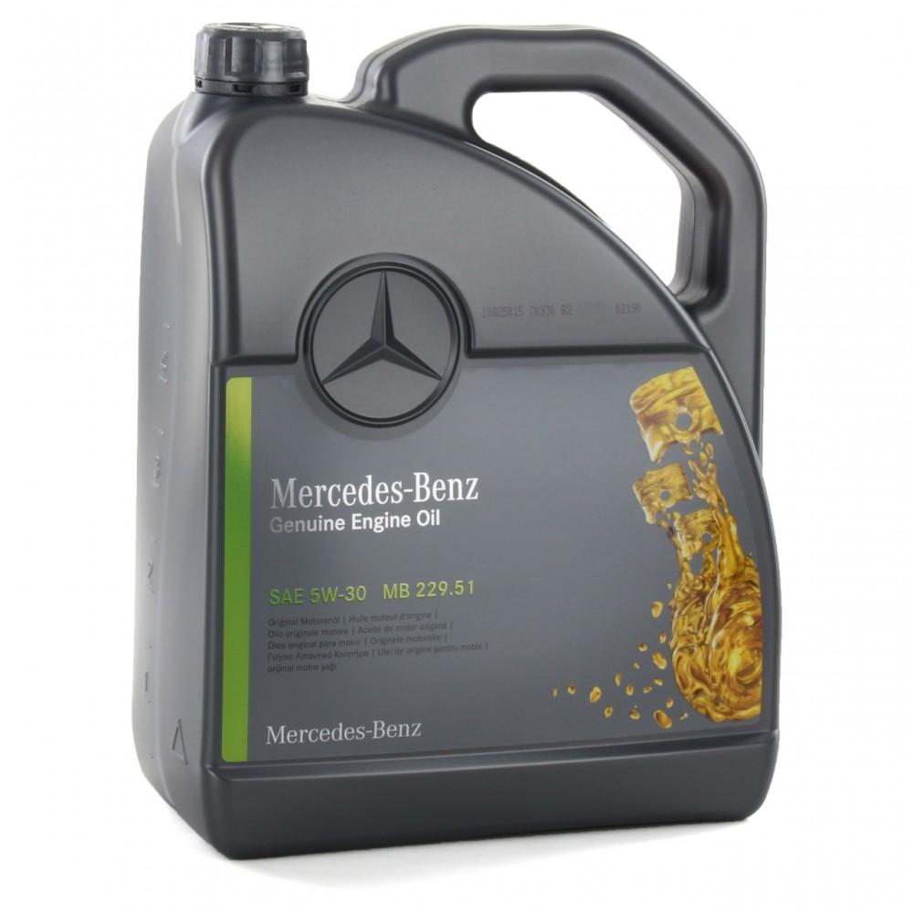 Моторное масло Mercedes-Benz MB 229.51 5W-30 5 л