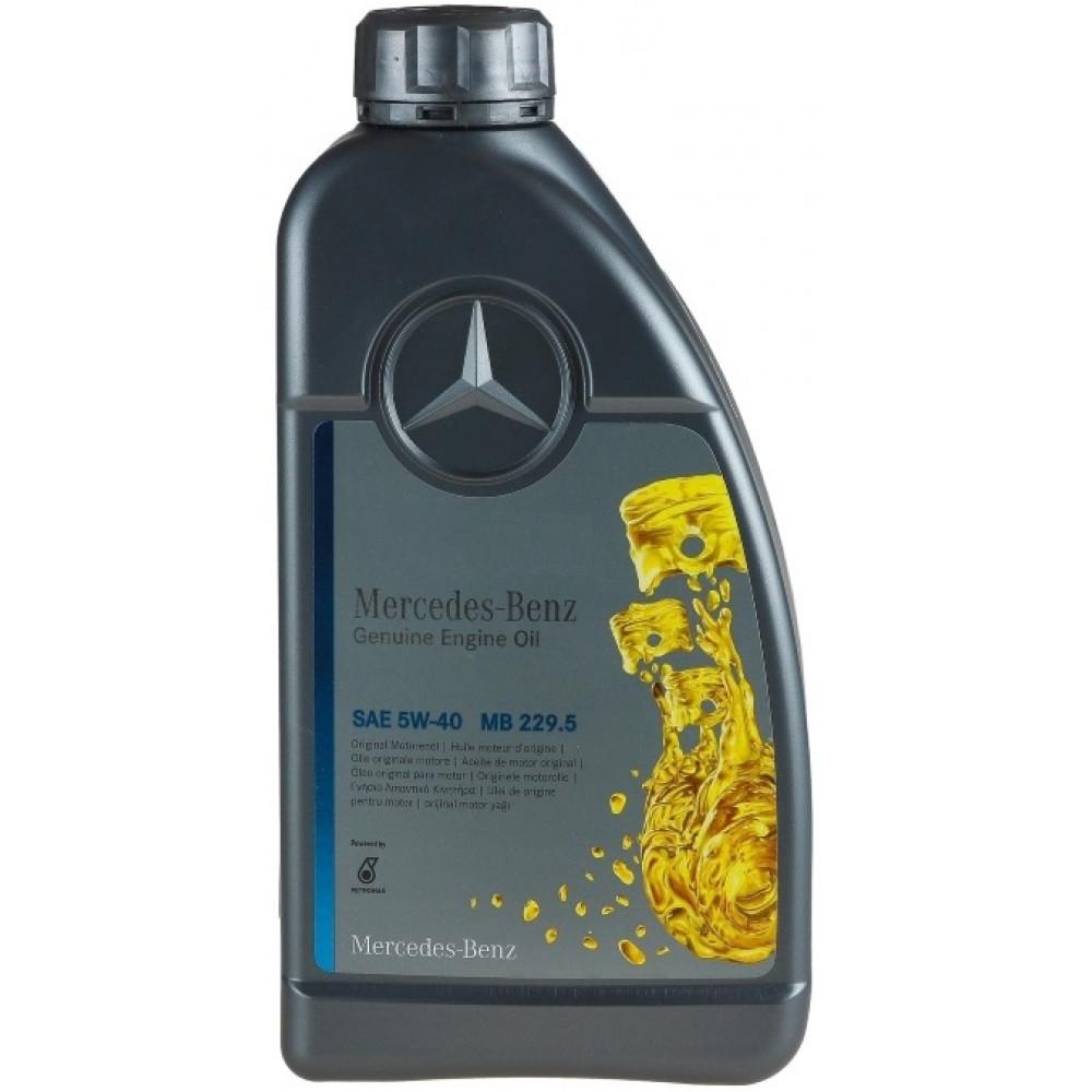 Моторное масло Mercedes-Вenz MB 229.5 5w40 1л.