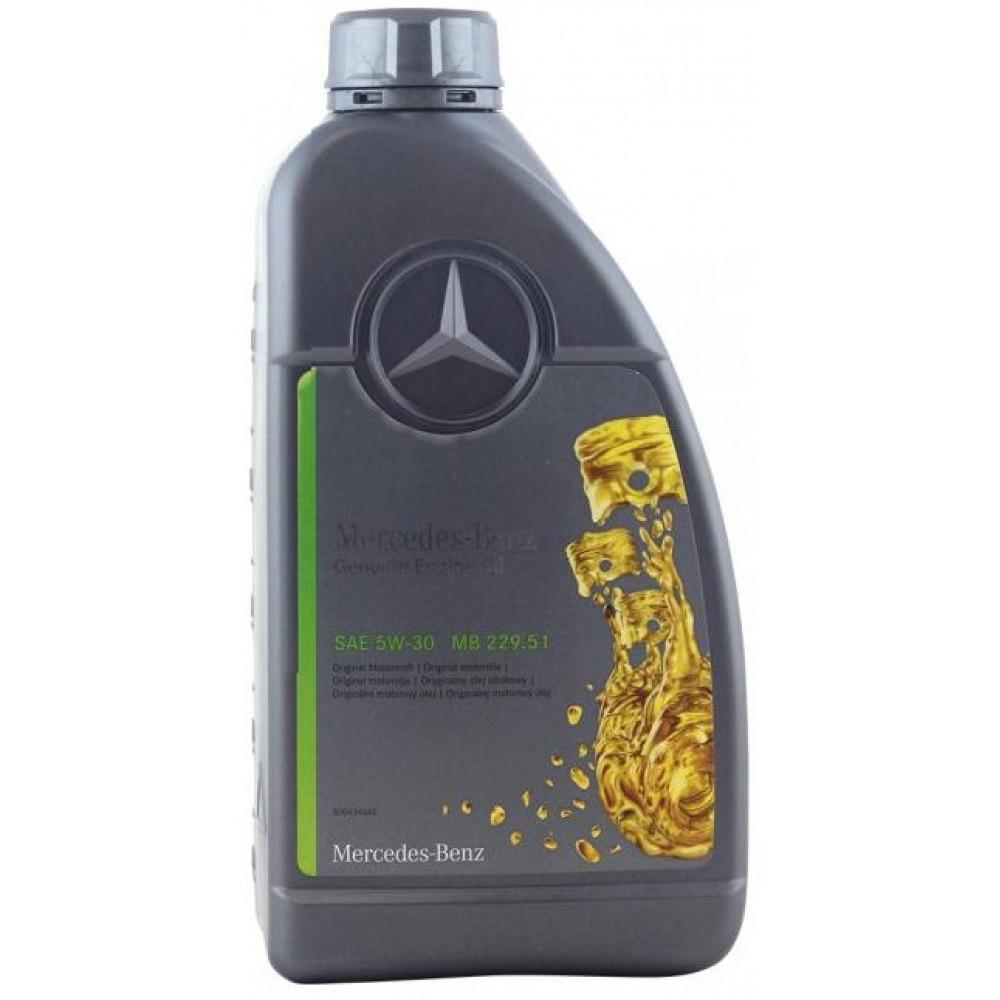 оторное масло Mercedes-Benz MB 229.51 5W-30 1 л