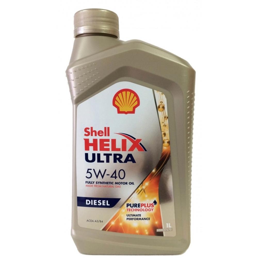 Масло Shell Helix Ultra Diesel 5W-40 1л