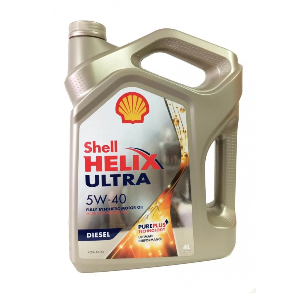 Масло Shell Helix Ultra Diesel 5W-40 4л