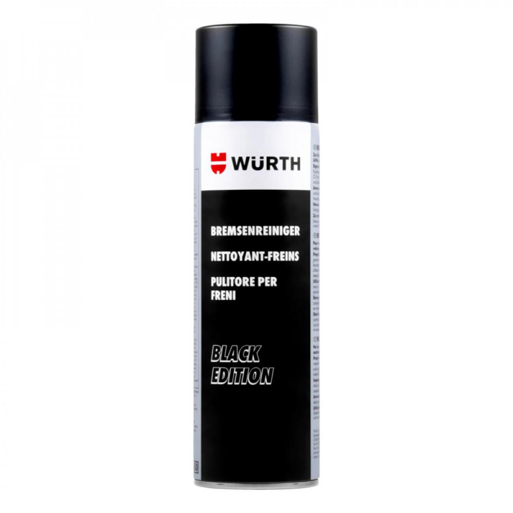 Очиститель тормозов WURTH Black Edition 500 мл 5988000355053